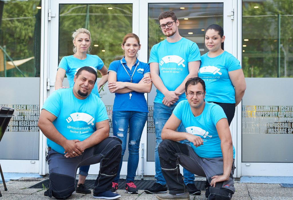 Team von LD-Hausbetreuung